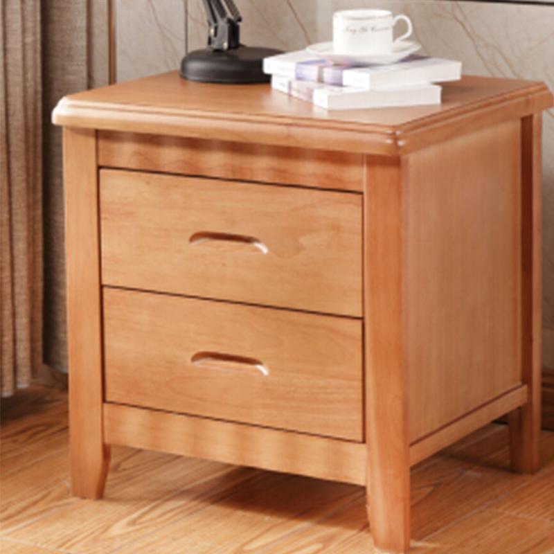 91-实木床头柜